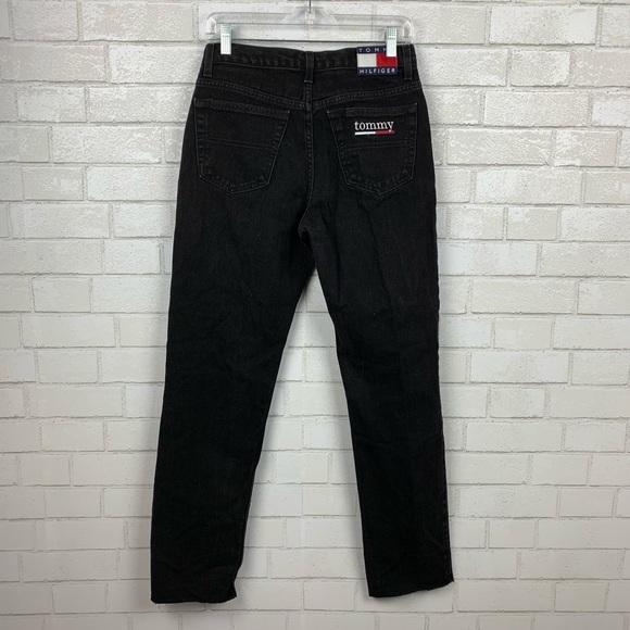 63f195edd Tommy Hilfiger Spell Out Black Jeans 28 J2160. M_5c75b4d50cb5aadf5d4a114a